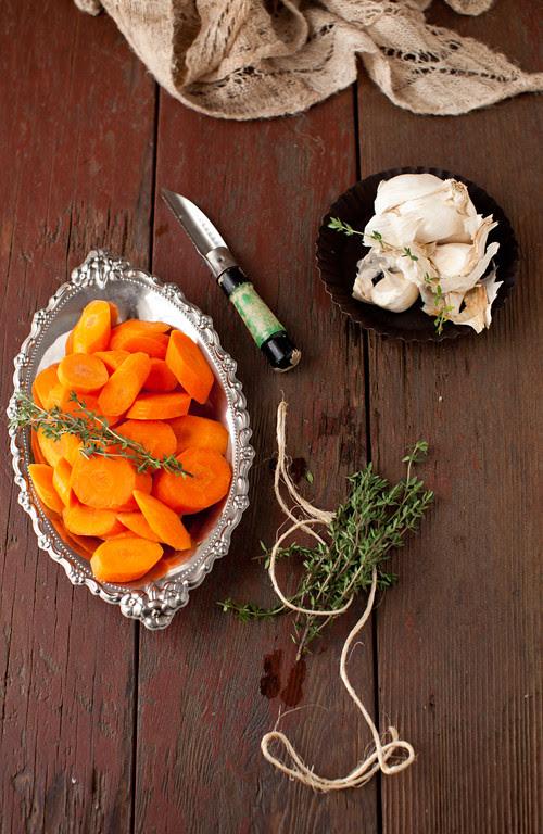 Beet Mushrooms Stew 2