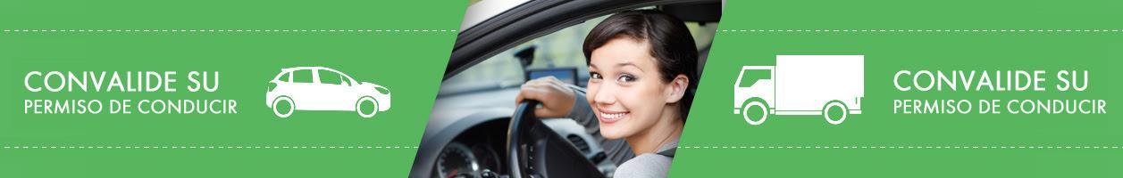 Convalida tu carnet de conducir