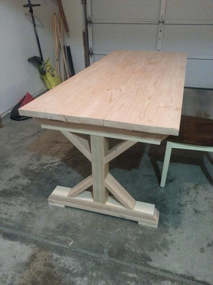 Building A 10 Person Dining Room Table Is Our Project Of The Week - 8 Pics