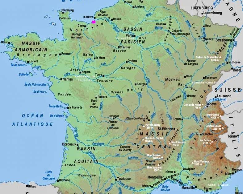 Nice Carte De France
