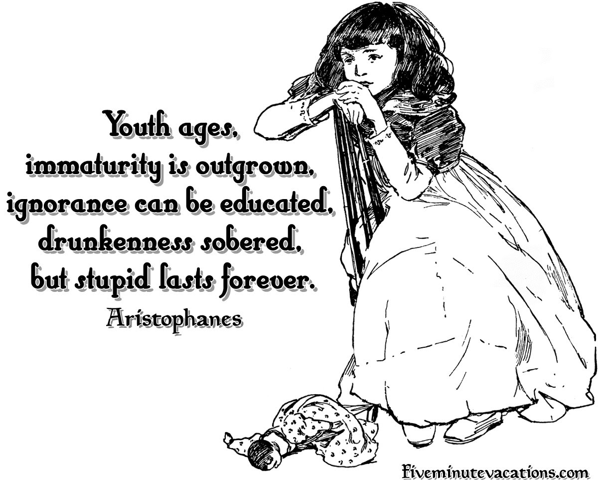 Immature People Need To Grow Up Quotes
