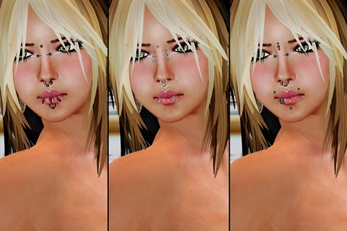 HOD Twisted Piercings