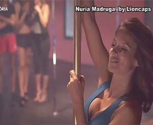 Nuria Madruga sensual na serie Água de Mar