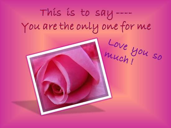 A Beautiful Rose For Your Beloved Free I Love You Ecards 123