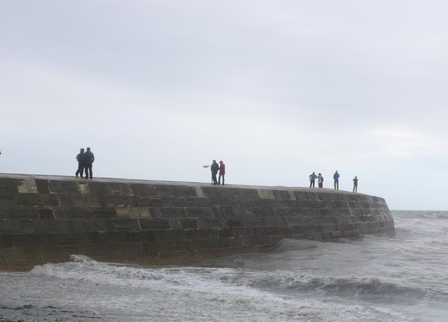 File:The Cobb at Lyme Regis - geograph.org.uk - 928109.jpg