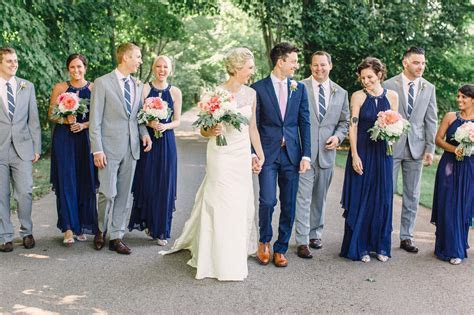 Navy Bridal Party   bridesmaid dresses in 2019   Navy