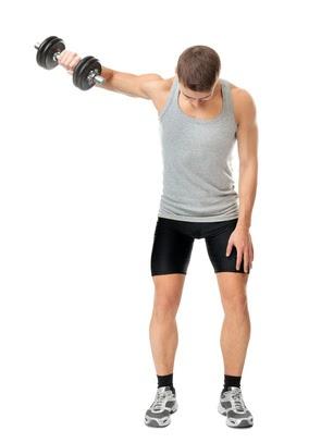 Schulter übungen Kurzhantel