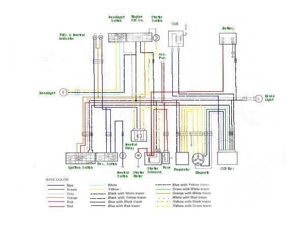 Wiring Diagram Quadrunner 250