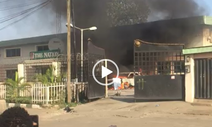 How The Nation Newspaper office was torched — Editor narrates