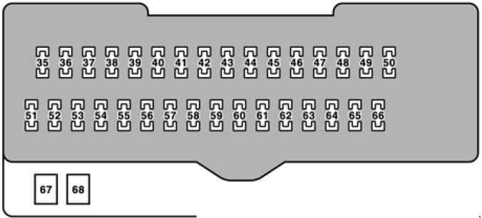2006 Lexu Gs300 Fuse Box Diagram