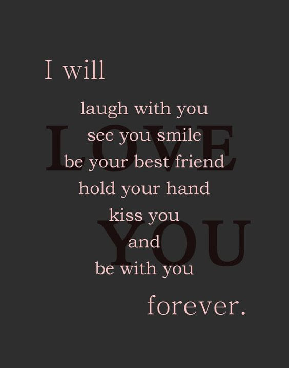I Will Be With You Forever I Love You Pictures Photos And Images