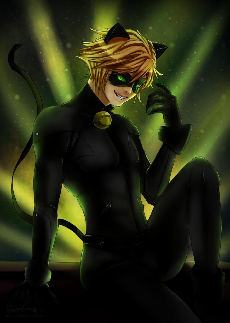 Chat Noir Miraculous Ladybug Fa Art 39498368 Fanpop
