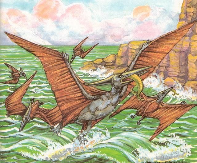 Fishing Pteranodons
