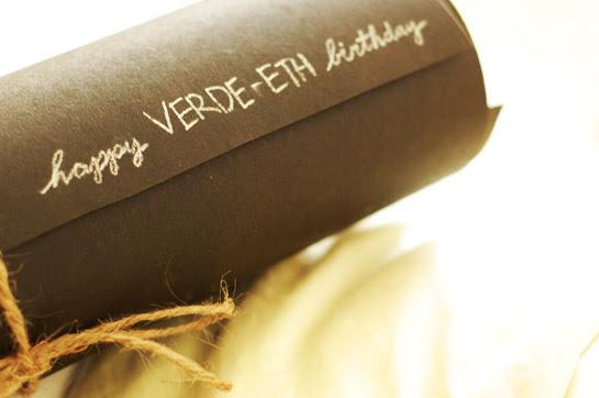 my thirtieth birthday