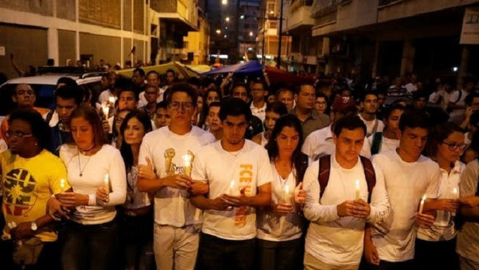 Homilía en recuerdo de los fallecidos en las protestas de Venezuela