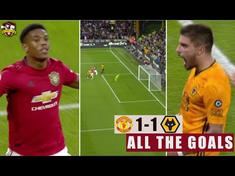 EPL: Wolves vs Manchester United  1 - 1  Goals & Highlight