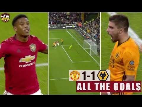 EPL: Wolves vs Manchester United  1 - 1  Goals & Highlight