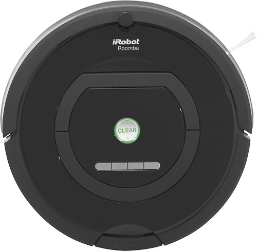 iRobot - Roomba 770 Vacuum Cleaning Robot - Black - Larger Front
