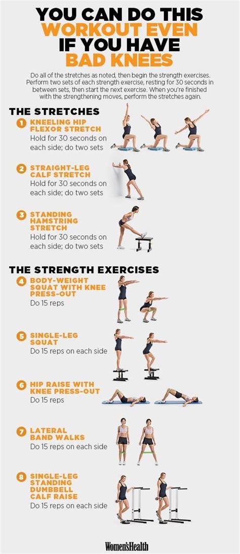 workout   crush     bad knees knee