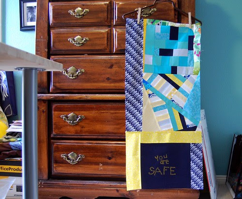 Nicke's traveling quilt