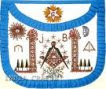 Masonic Apron, UN Blue, Freemasons, freemason, Freemasonry