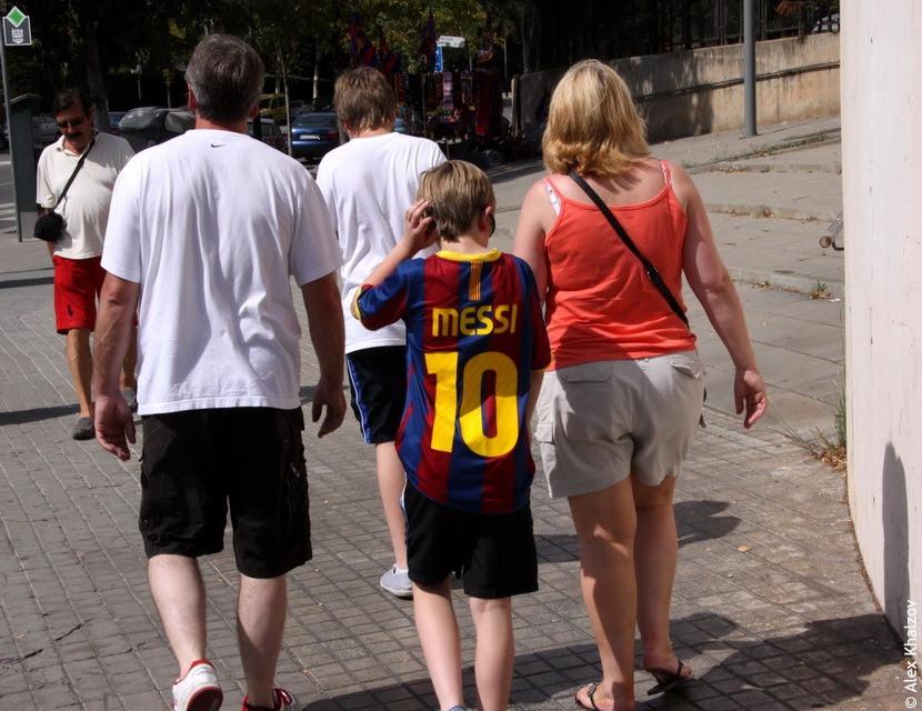 Месси в Каталонии