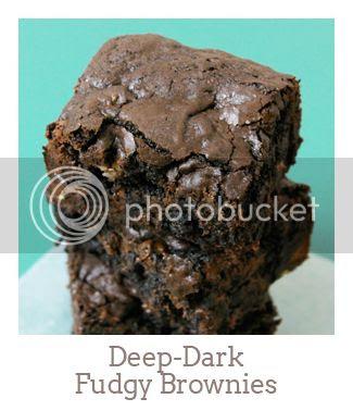 """""""Deep-Dark Fudgy Brownies"""""""
