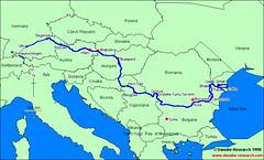 River Danube, Europe