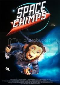 Space Chimp Official Poster