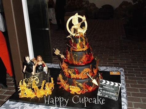 Cakes on Fire: 5 Winning Hunger Games Cakes