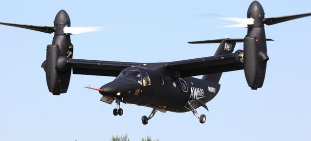 Everything You Need To Know About The First Civilian Tilt Rotor Aircraft