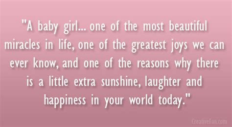Pretty Baby Girl Quotes