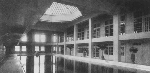 Los Angeles Athletic Club Swimming Pool