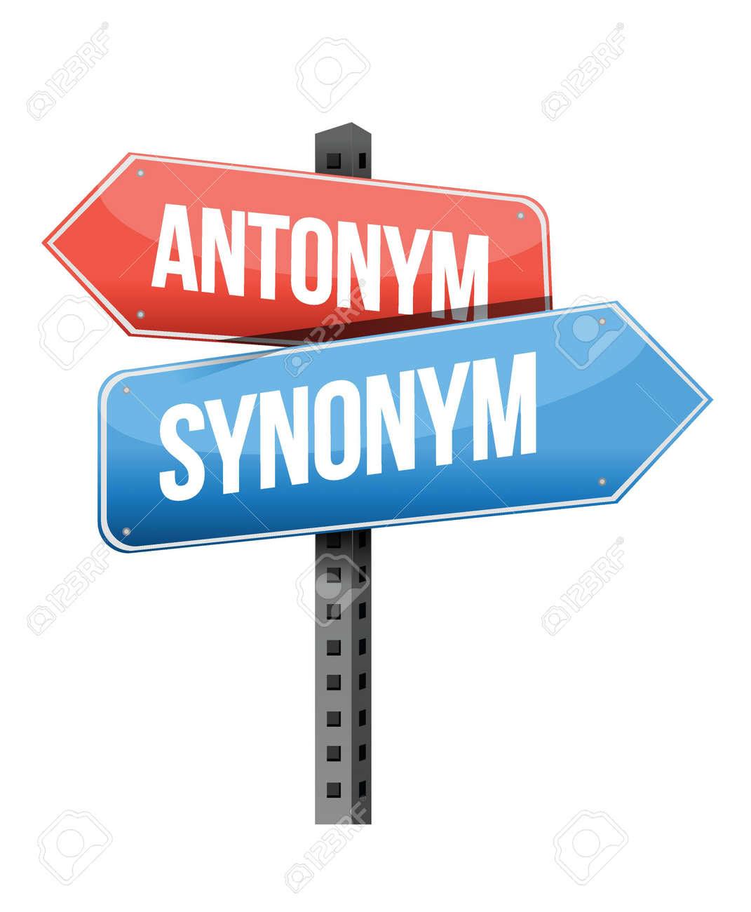 Image result for antonym synonym