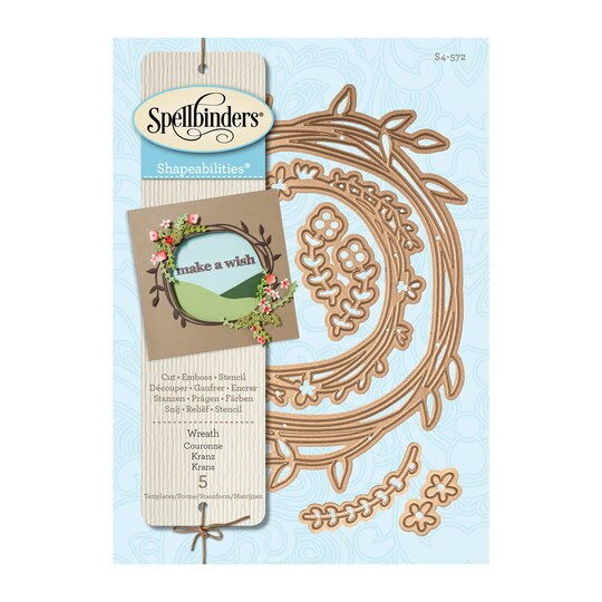 Spellbinders Shapeabilities Wreath Die Set