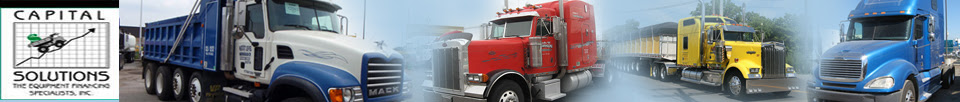 Bad Credit Commercial Truck Financing