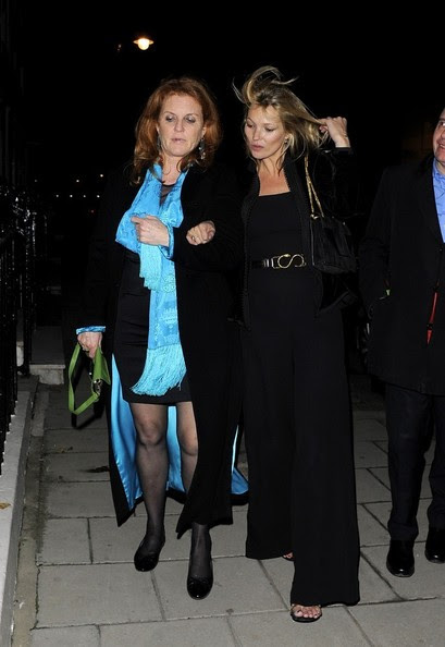 Kate Moss - Kate Moss and Other Celebs Celebrate an Early Chinese New Year