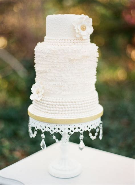Delightful & Delicious Spring Wedding Cake Decorations