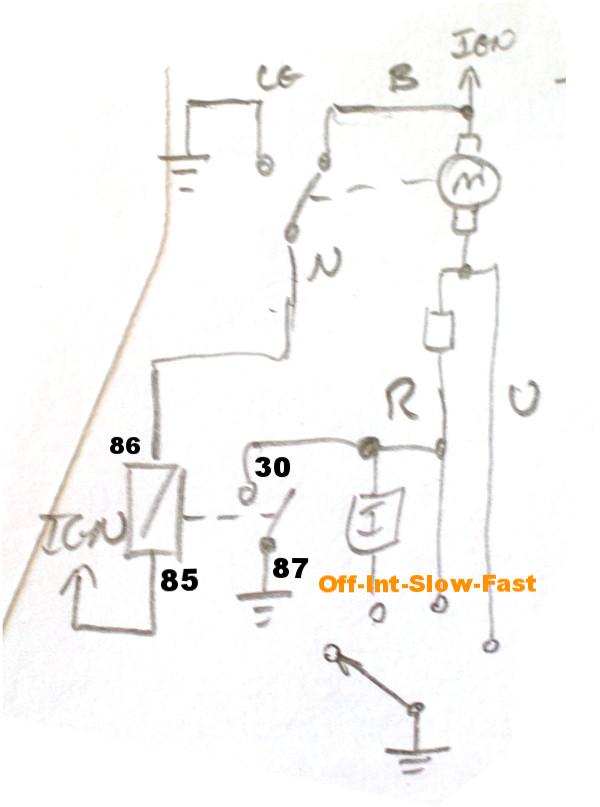 2 Speed Wiper Motor Wiring Retro Rides