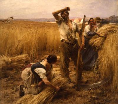Peintre Naturaliste Léon Lhermitte 1844 1925 Chezmamielucette