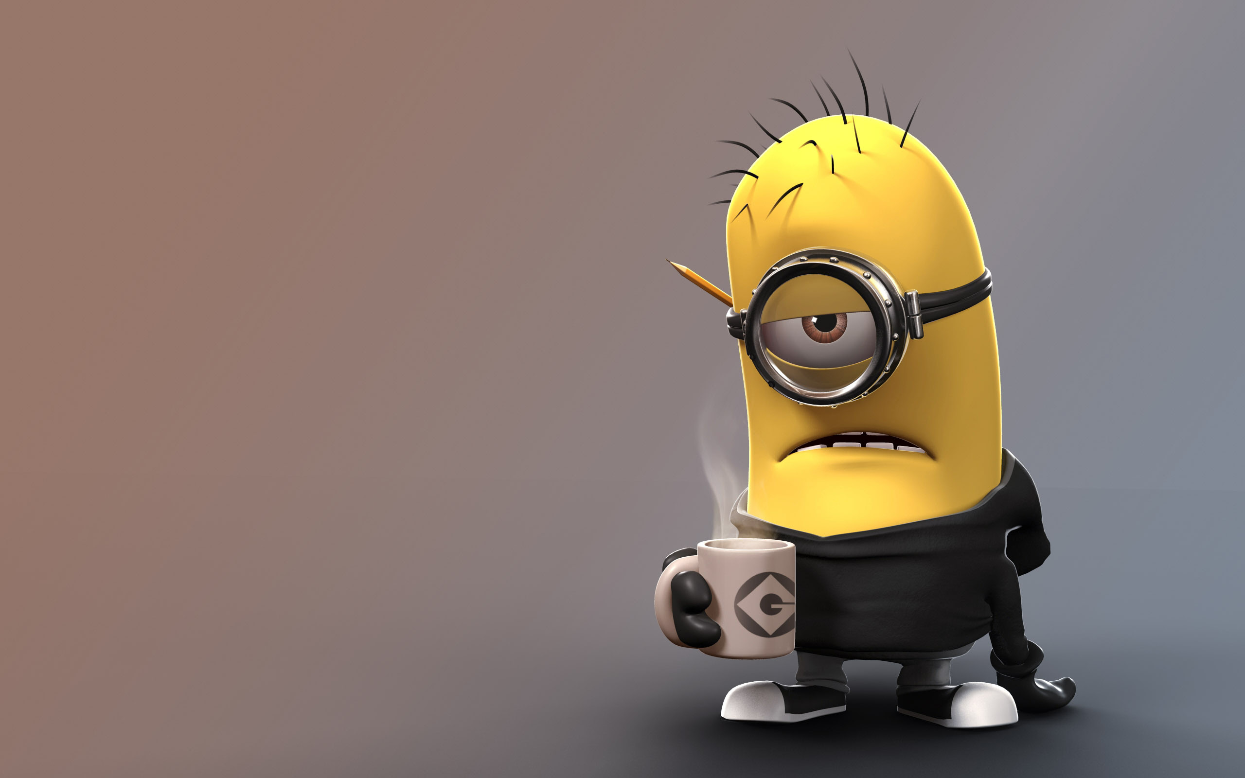A Cute Collection Of Despicable Me 2 Minions Wallpapers Images Fan Art Designbolts