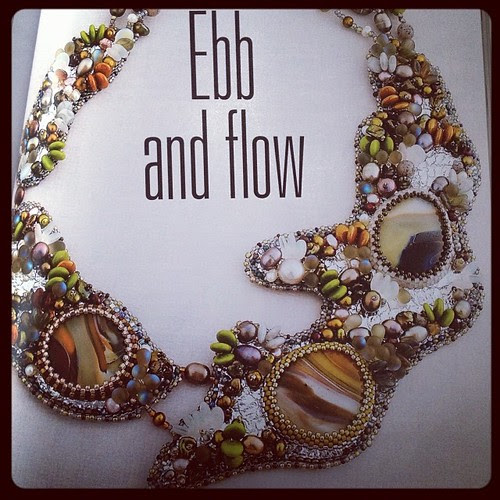 Design by Tea Benduhn from the book Stylish Jewelry Your Way.
