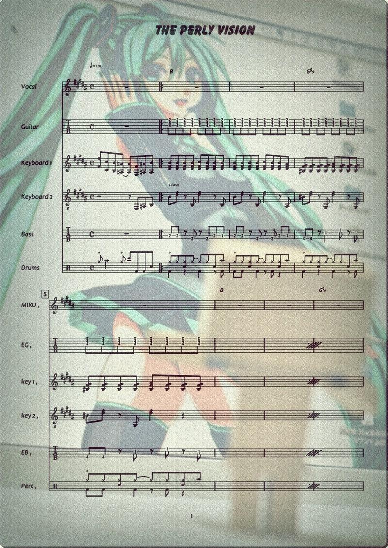 真珠色のVISION Band 1p7edit