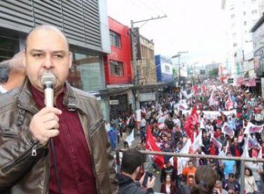 Presidente da CUT apoia campanha de plebiscito para novas eleições