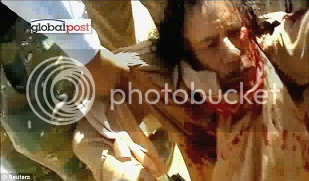 Foto Khadafi Tewas