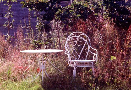 Metal Garden Furniture by 35mm_photographs