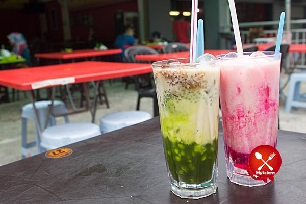 Air katira dan Bandung soda di Restoran bisik bisik shah alam 2