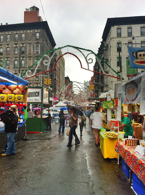 Feast of San Gennaro September 15, 2011