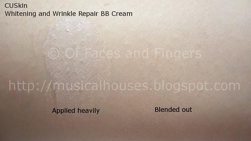 cuskin whitening wrinkle repair bb cream