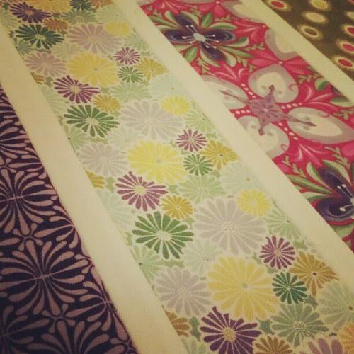 Terrain challenge: sewn strips